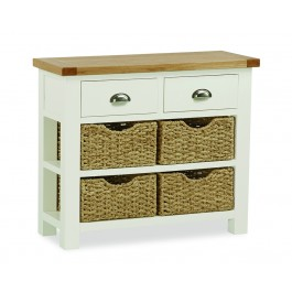 Norfolk Coffee Table With Baskets