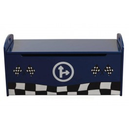 Racer Blue Toy Box