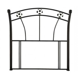 Soccer Headboard Black
