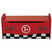 Racer Red Toy Box