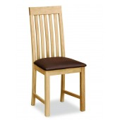 Trinity Slatted Chair
