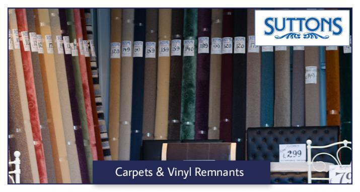 Suttons Wickford Carpet and Vinyl Remnants