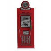 Racer Red Pump Cabinet